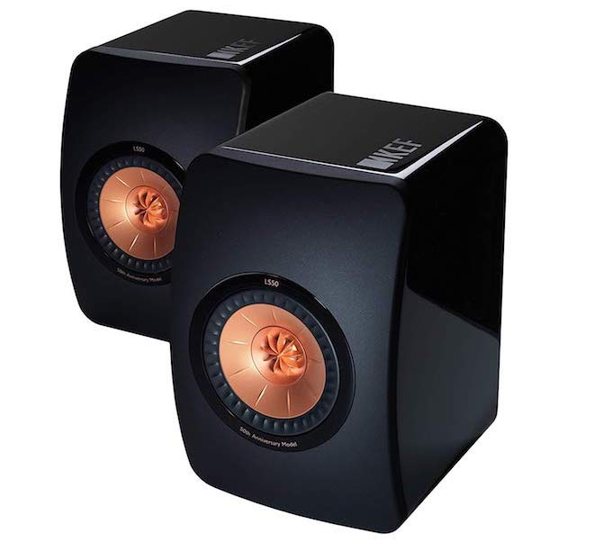KEF LS50 Bookshelf Speakers
