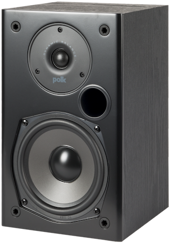 Polk Audio T15 Bookshelf Speaker Back View