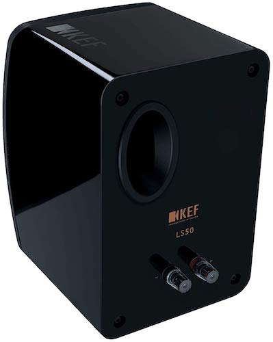 KEF LS50 Bookshelf Speaker Back View